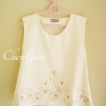 Sleeveless Top with Appliqu..